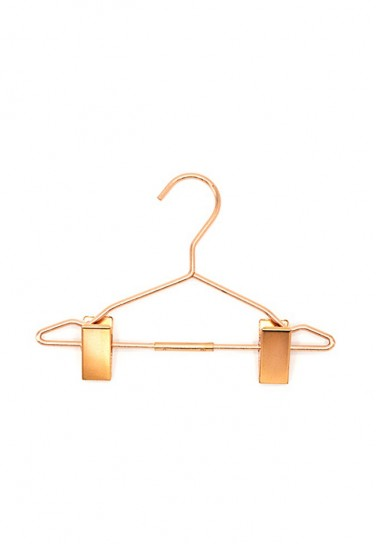 FASHION DOLL CLOTHES HANGER WITH CLIP