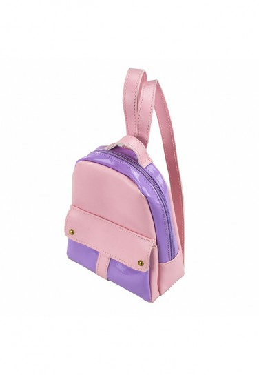 LIGHT PINK PURPLE BACKPACK