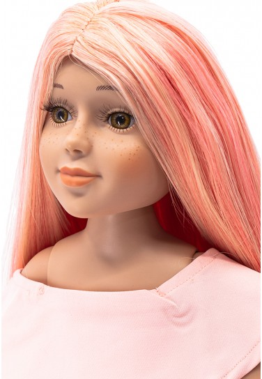 LIGHT PINK LONG WIG FÜR I'M...