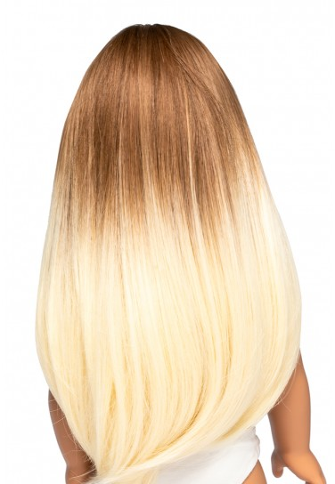 BROWN BLONDE LONG WIG FOR...