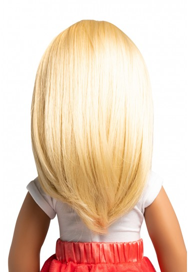 BLOND MIDDLE LENGTH WIG FOR...