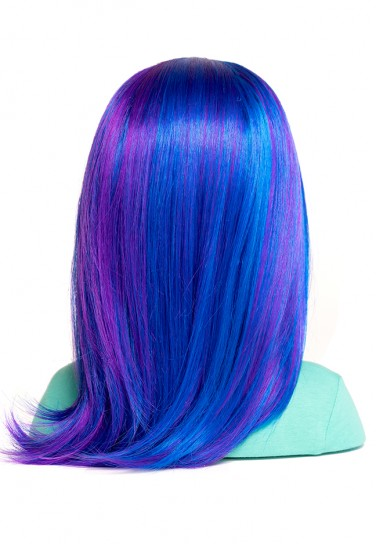BLUE WIG FOR I'M A STYLIST