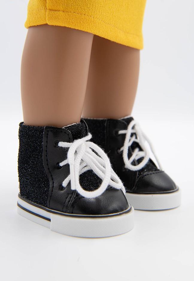 I'M A GIRLY I trendy black white shoes