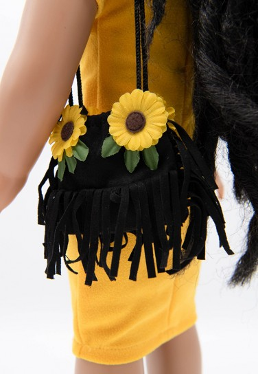 SUNFLOWER BLACK BAG