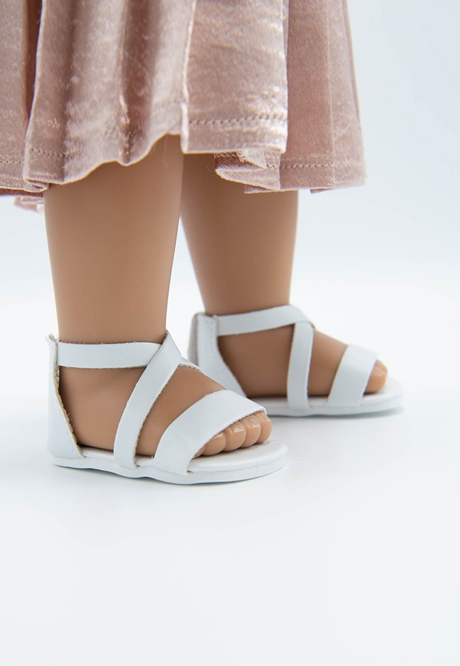 I'M A GIRLY I trendy white summer shoes